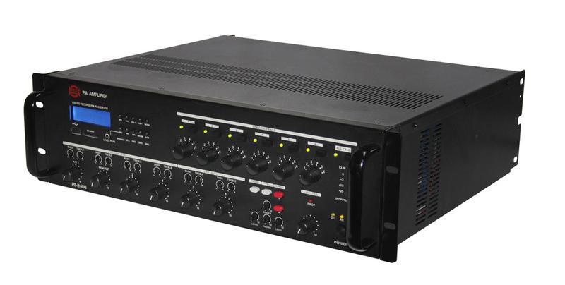 Усилитель комбинированный 100 Вольт Show PS-2406