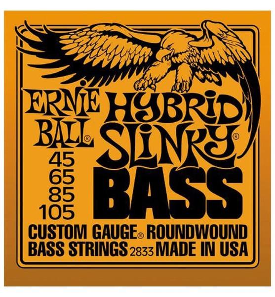 Струны для бас гитары Ernie Ball 2833