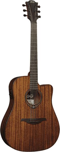Гитара полуакустическая Lag T98DCE