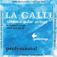 Струны для классической гитары Galli LG40