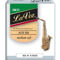Трости для саксофона-альт Rico LaVoz RJC10MS