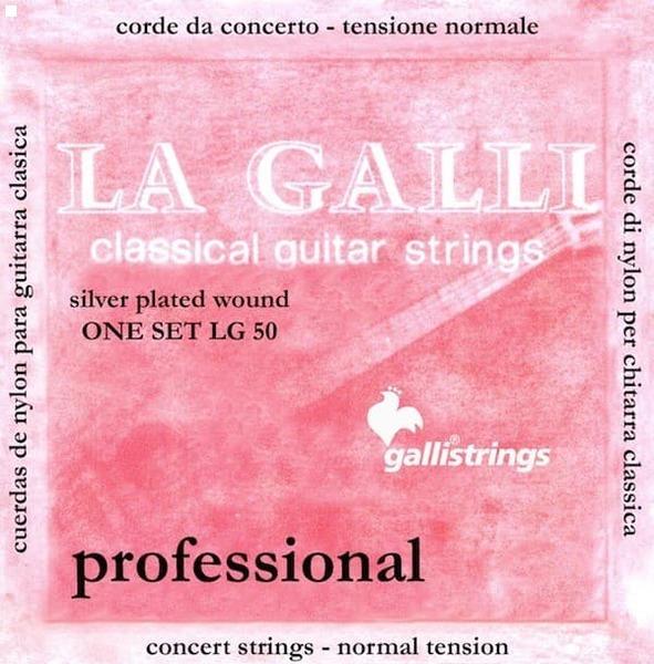 Струны для классической гитары Galli LG50